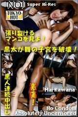 被黑人中出了 TOKYO-HOT158